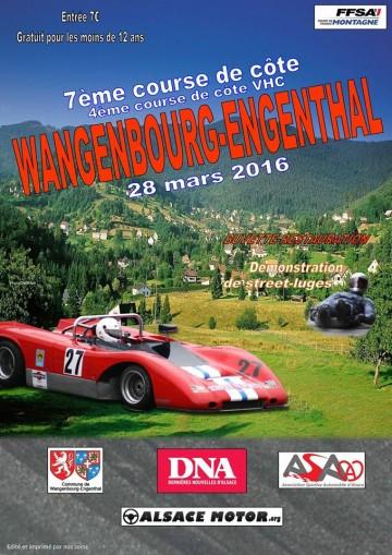 Course de Côte de Wangenbourg-Engenthal 2016