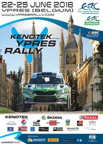 Affiche Rallye d'Ypres 2016
