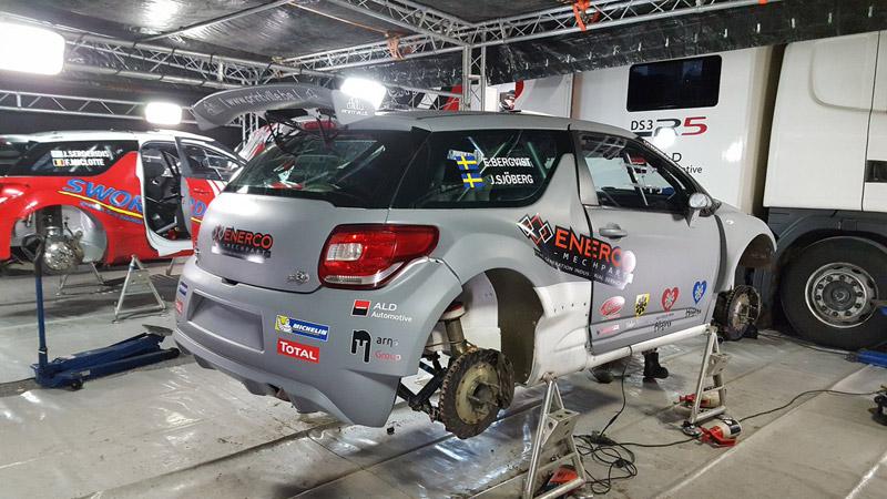 Citroën DS3 R5 - Emil Bergkvist - Rallye Monte-Carlo 2017