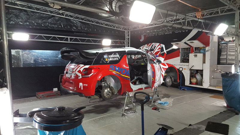 Citroën DS3 WRC - Jourdan Serderidis - Rallye Monte-Carlo 2017