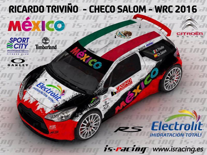 Citroën DS3 R5 - Ricardo Triviño - Rallye Monte-Carlo 2016