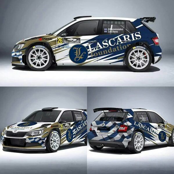 Škoda Fabia R5 - Lambros Athanassoulas - Rallye Monte-Carlo 2016