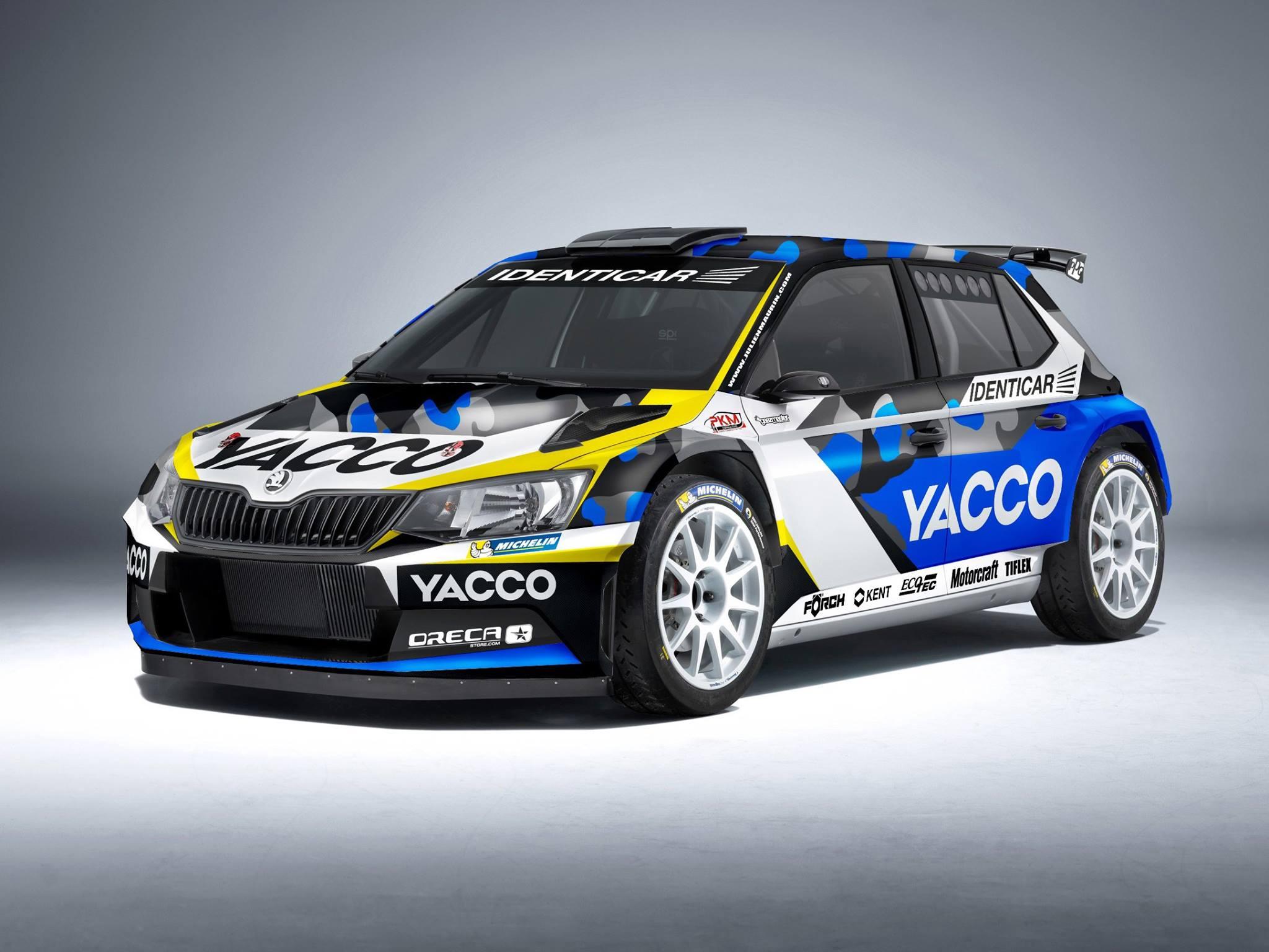 Škoda Fabia R5 - Julien Maurin - WRC 2016