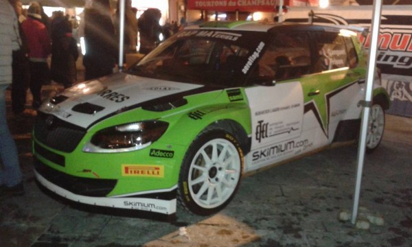 Škoda Fabia S2000 - Christophe Ganguet - Rallye Monte-Carlo 2016