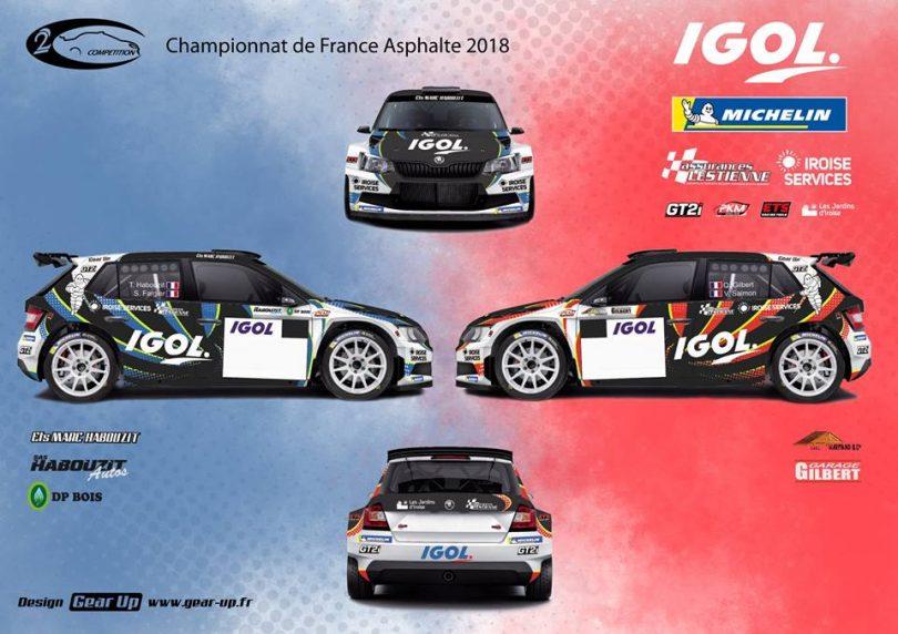 Rallye l'anguison 2018