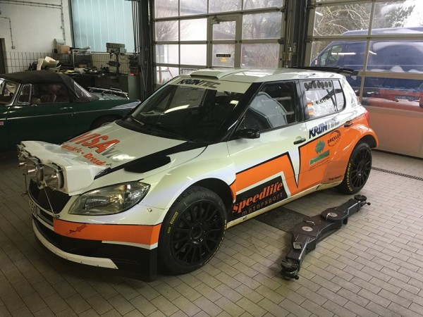 Škoda Fabia S2000 - Maximilian Koch - Rallye Monte-Carlo 2016