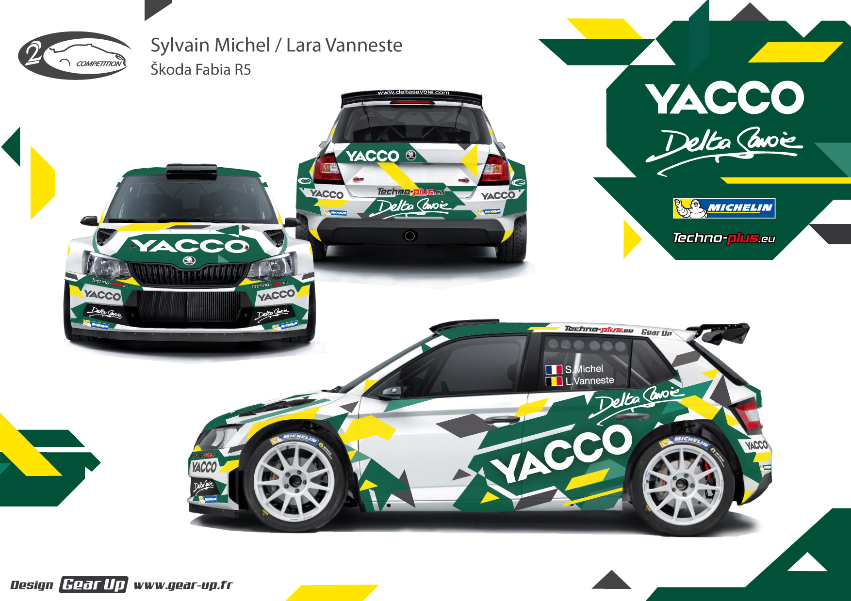 koda fabia r5 sylvain michel championnat de france des rallyes 2016. Black Bedroom Furniture Sets. Home Design Ideas