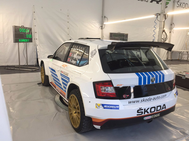 Škoda Fabia R5 - Andreas Mikkelsen - Rallye Monte-Carlo 2017