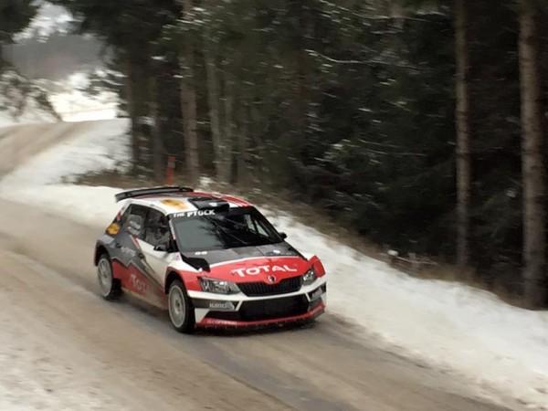 Škoda Fabia R5 - Hubert Ptaszek - Rallye Monte-Carlo 2016