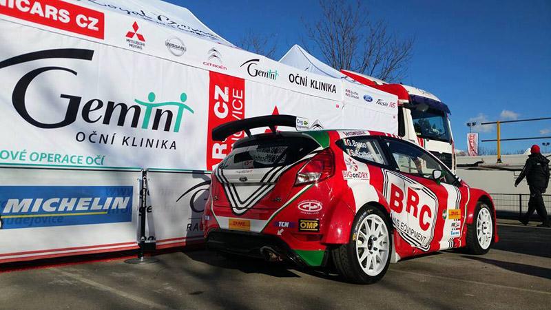 Ford Fiesta R5 - Giandomenico Basso - Rallye Monte-Carlo 2017
