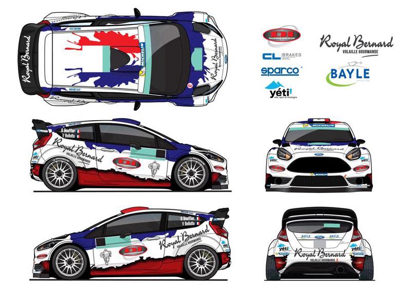 Ford Fiesta WRC - Bryan Bouffier - Rallye Monte-Carlo 2016