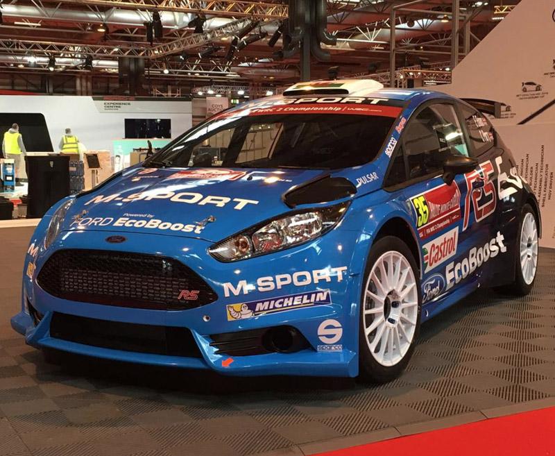 Ford Fiesta R5 - Elfyn Evans - Rallye Monte-Carlo 2016