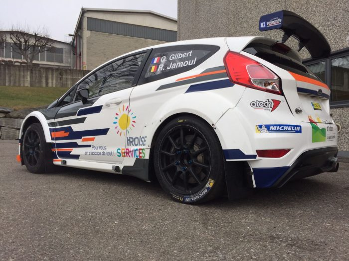 Ford Fiesta R5 - Quentin Gilbert - Rallye Monte-Carlo 2017