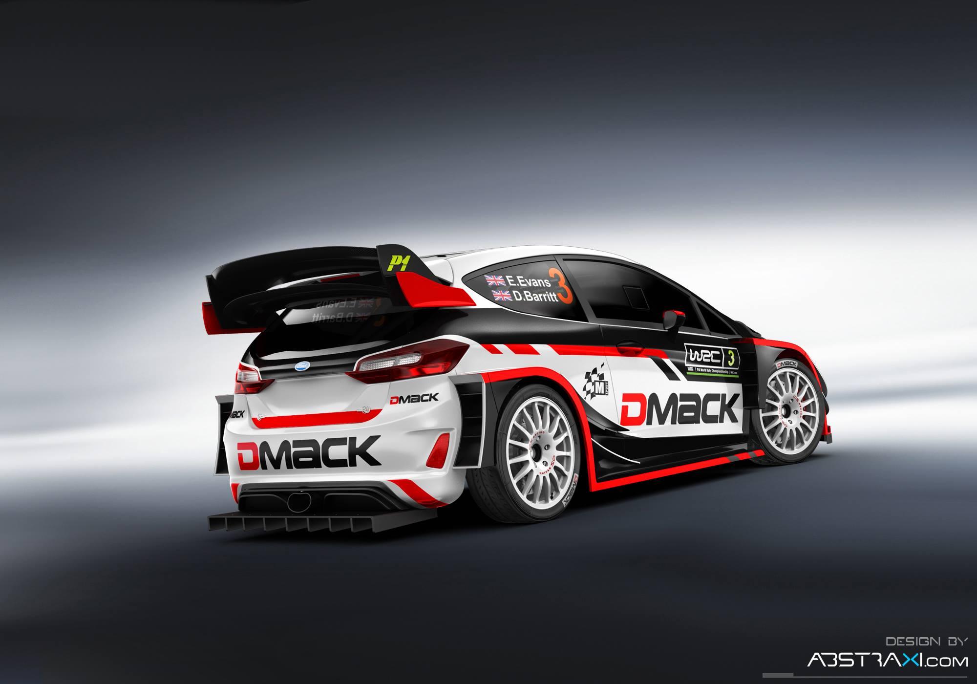 Ford Fiesta WRC - Elfyn Evans - WRC 2017