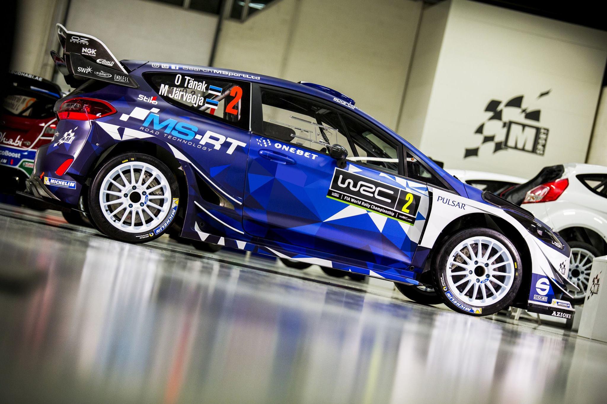Ford Fiesta WRC 2017 - Ott Tänak