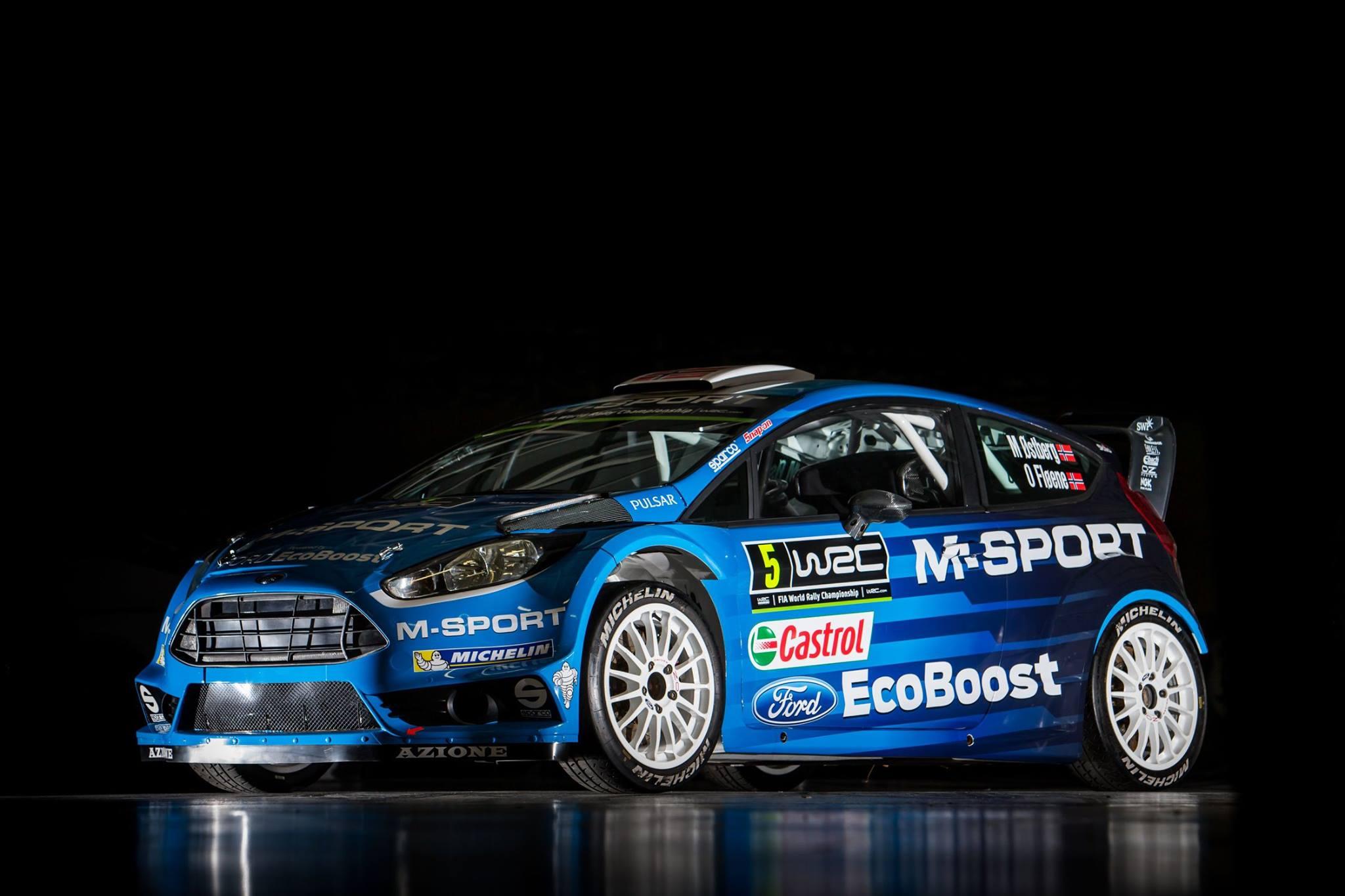 Ford Fiesta WRC - M-Sport - WRC 2016