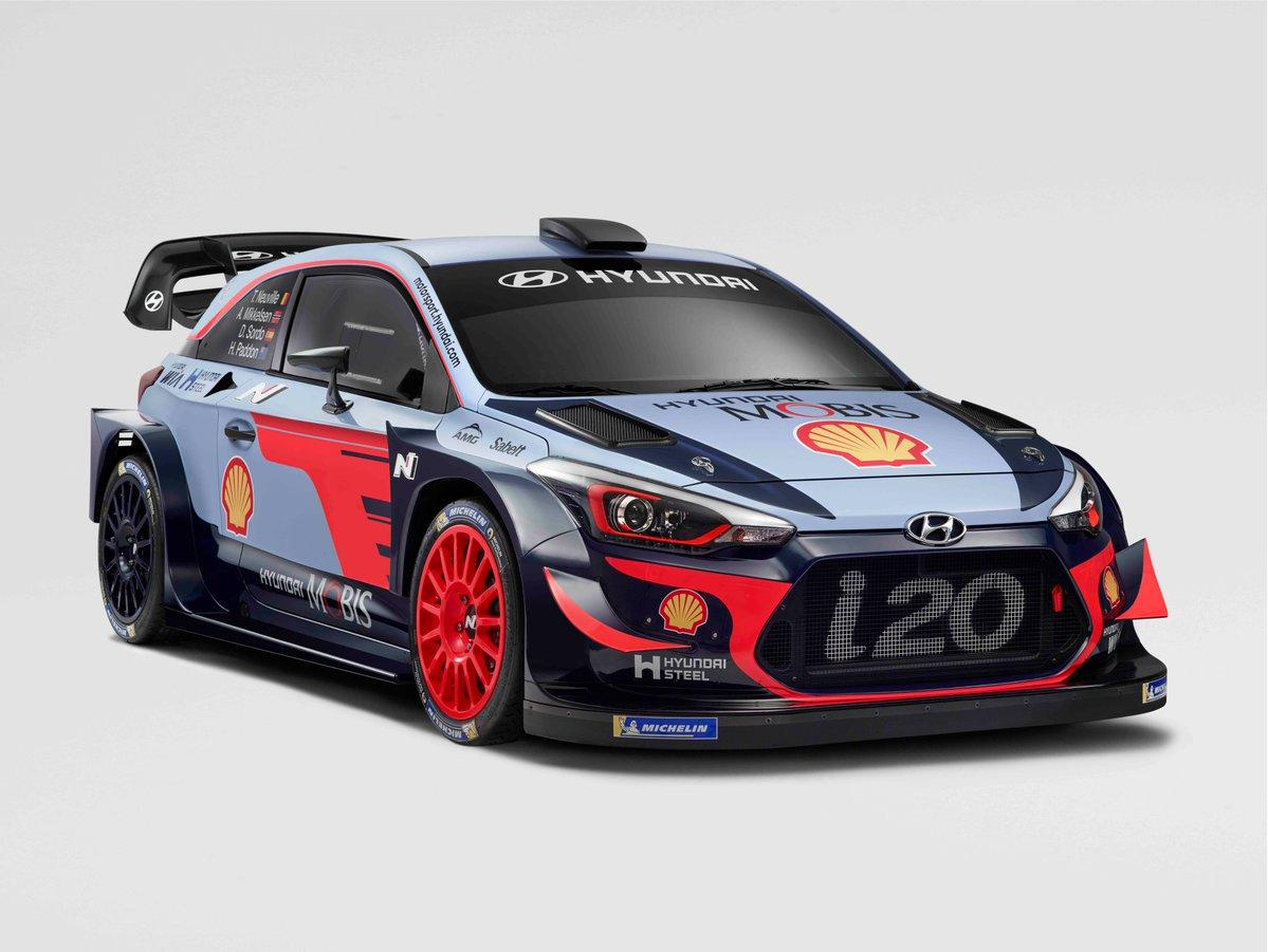 Hyundai i20 WRC – WRC 2018 - RALLYGO.com