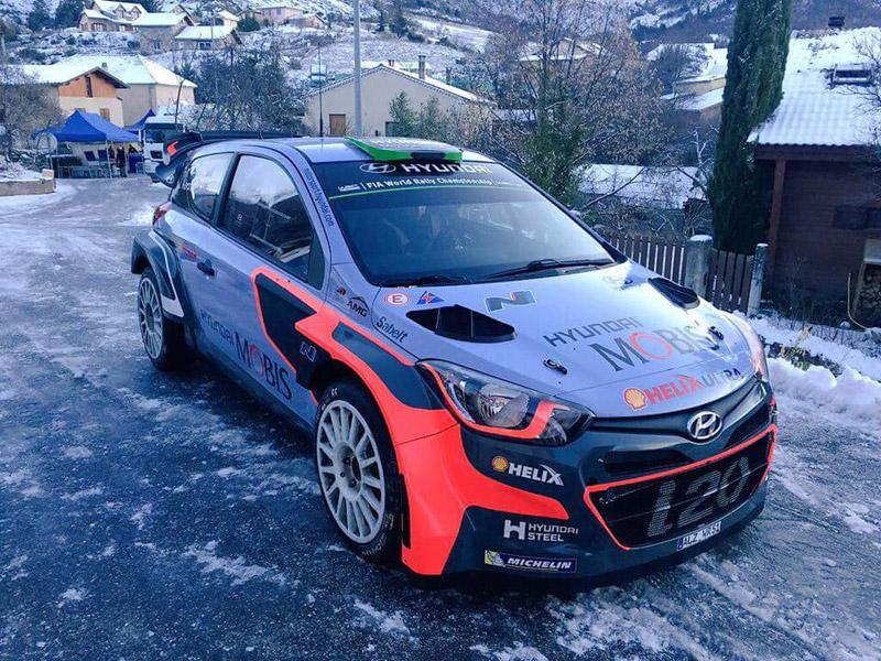Hyundai i20 WRC - Hayden Paddon - Rallye Monte-Carlo 2016