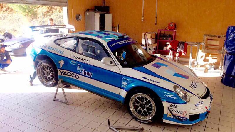 Porsche 997 GT3 - Romain Dumas - Rallye Monte-Carlo 2017